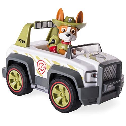 Paw Patrol, Jungle Rescue, Tracker's Jungle Cruiser, Vehicle & Figure