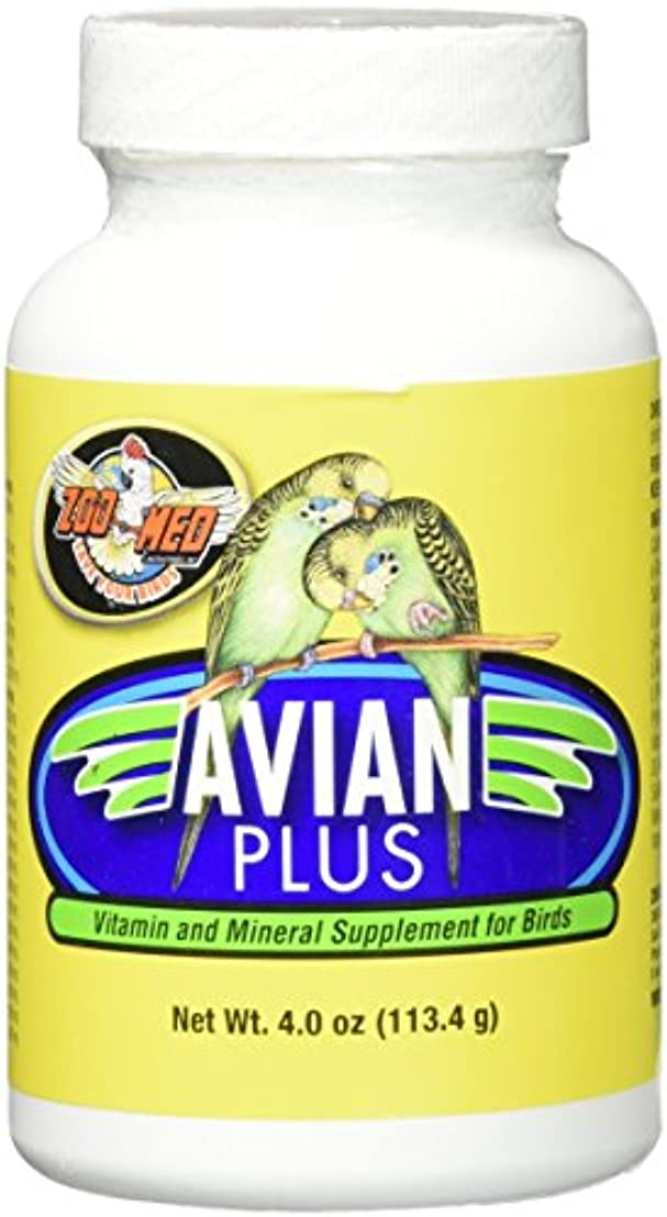 ディプロマスパン芽Zoo Med Laboratories Bzma374 Avian Plus Bird Vitamins, 4 oz by Zoo Med