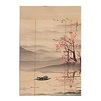 竹製ローラーブラインドカーテン竹製カーテン防虫カーテンバルコニーリビングルームティールームサンシェード、4スタイル、16サイズ (Color : D, Size : 80x150cm)