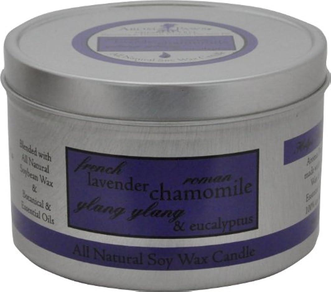 ビールに渡って解体するAroma Paws Travel Tin Candle, 8-Ounce, Lavender Chamomile by Aroma Paws