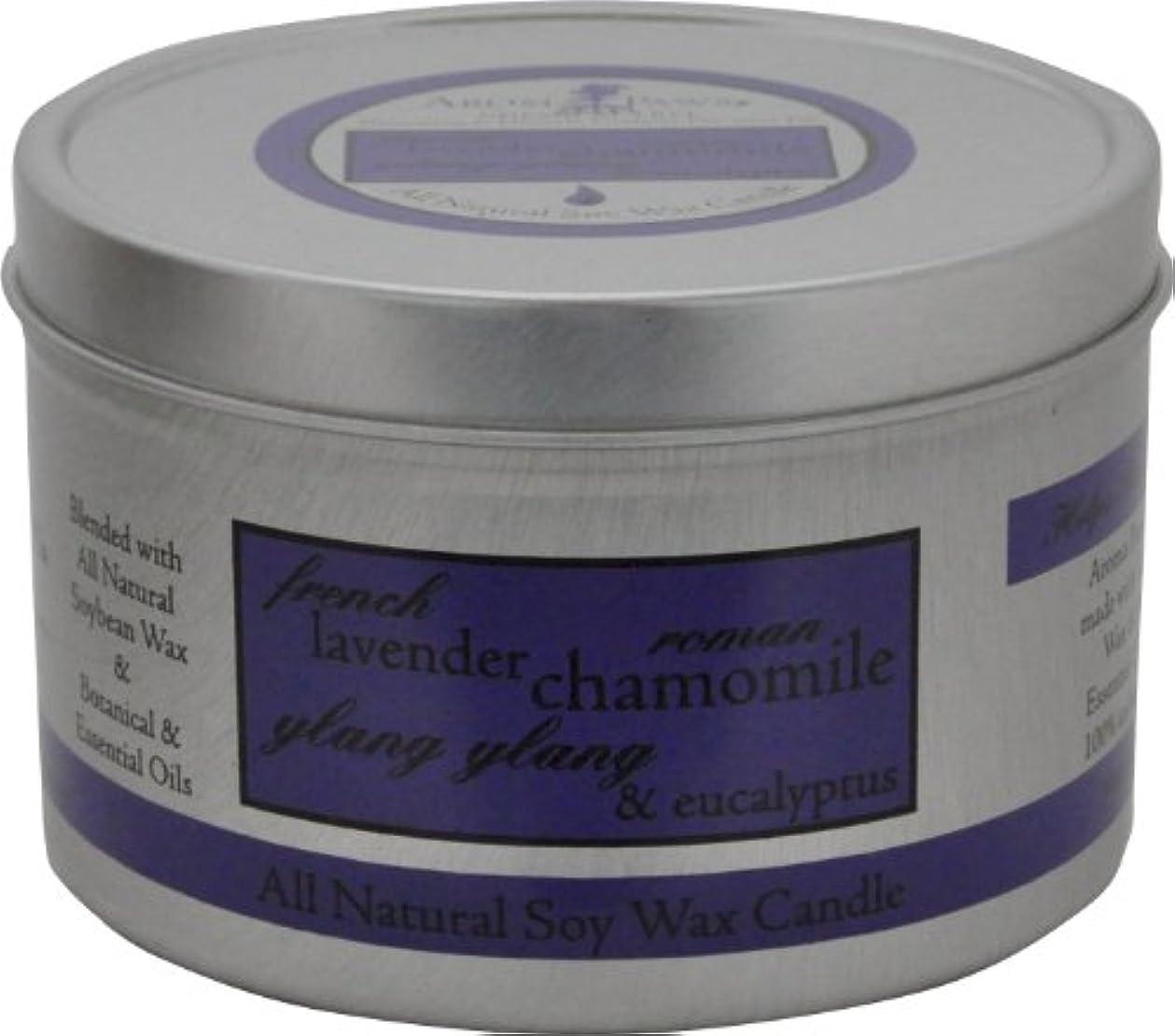 交渉する帝国偽善者Aroma Paws Travel Tin Candle, 8-Ounce, Lavender Chamomile by Aroma Paws