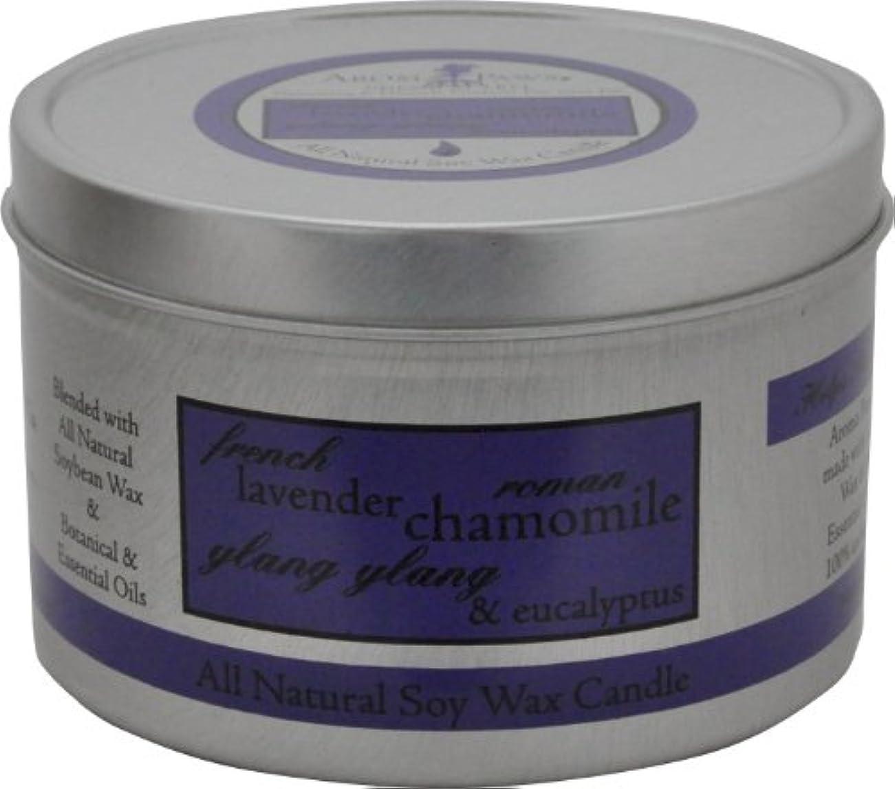 グローバル歩く視力Aroma Paws Travel Tin Candle, 8-Ounce, Lavender Chamomile by Aroma Paws