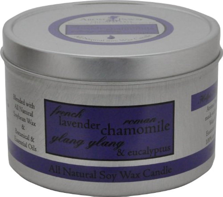 体系的にわがまま魔術Aroma Paws Travel Tin Candle, 8-Ounce, Lavender Chamomile by Aroma Paws