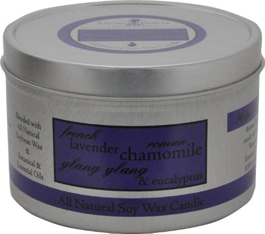 長さバック召喚するAroma Paws Travel Tin Candle, 8-Ounce, Lavender Chamomile by Aroma Paws