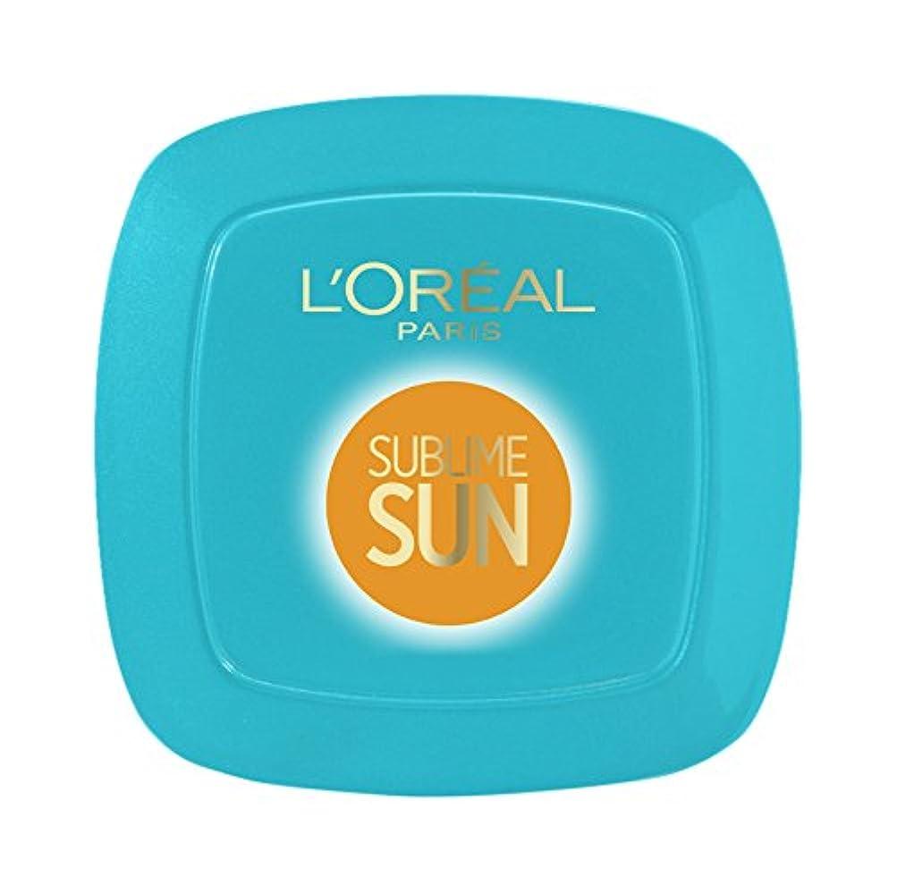 メッセンジャーシェル相談するL'OREAL - Crème Solaire - SUBLIME SUN - Cellular Protect - Visage et décolleté - FPS 50+