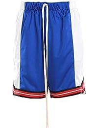 エピトミ ショーツ EPTM COLOR BLOCK BASKETBALL SHORTS EP8366 ブルー オフホワイト メンズ ボトム ショートパンツ バスケットショーツ