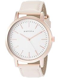 [フィールドワーク]Fieldwork 腕時計 ファッションウォッチ ダニー アナログ 革ベルト アイボリー QKS136-9