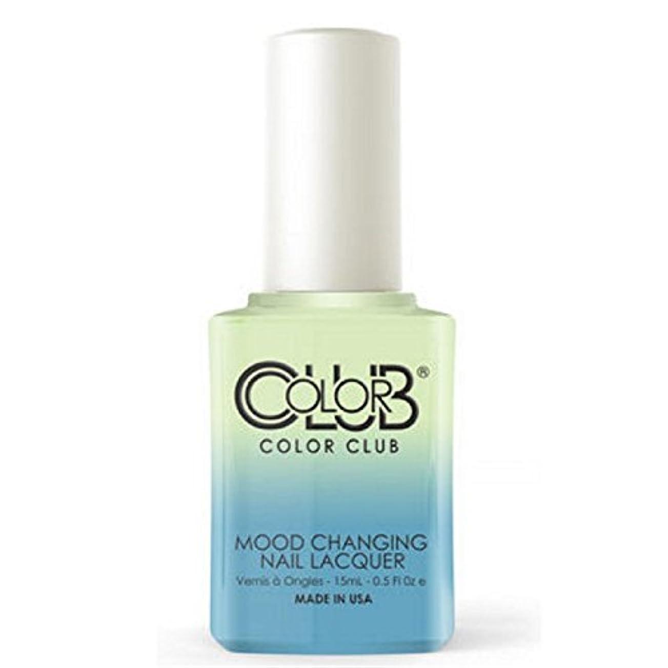 作曲するミニ方向Color Club Mood Changing Nail Lacquer - Extra-vert - 15 mL / 0.5 fl oz