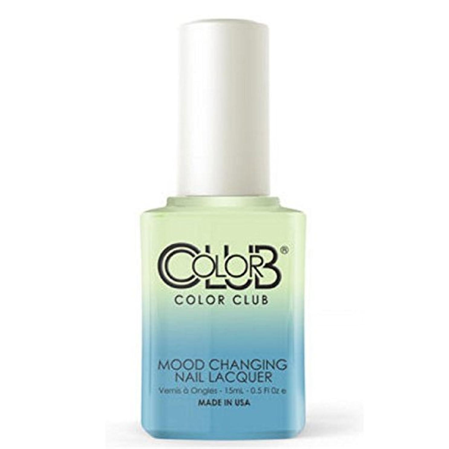 ピクニック振動させる恥ずかしさColor Club Mood Changing Nail Lacquer - Extra-vert - 15 mL / 0.5 fl oz
