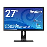 iiyama モニター ディスプレイ XUB2790HS-B2 (27インチ フルHD AH-IPS HDMI,D-sub,DVI-D 昇降 ピボット 3年保証)