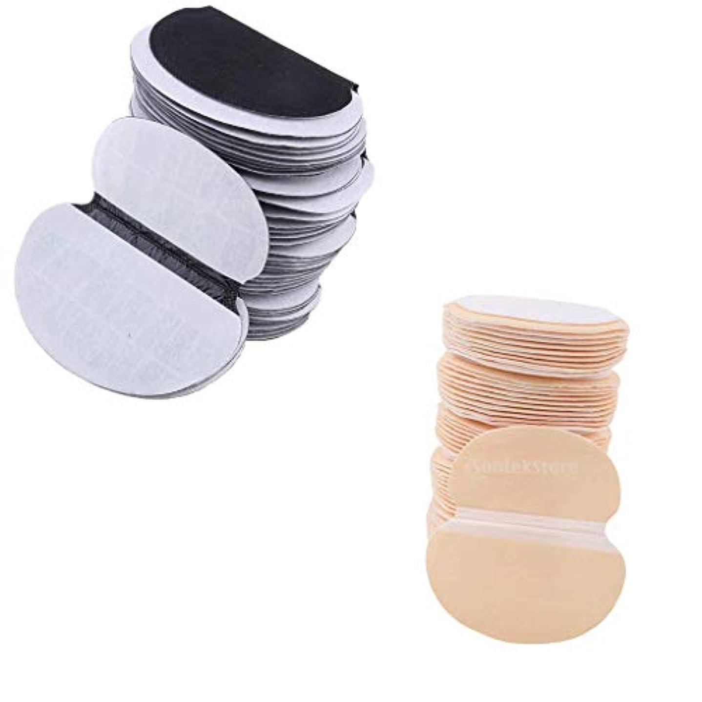 刃バケツ論理的約100枚 汗取りパッド 脇汗対策 わき汗パット 汚れ防止 使い捨て 乾燥保持