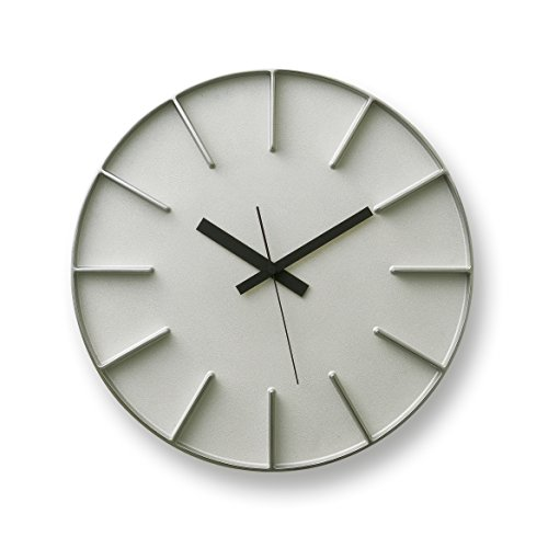 Lemnos edge clock アルミニウム AZ-0115 AL