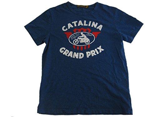 JOHNSON MOTORS/ジョンソン・モータース S/S Tシャツ 「カタリナグランプリ 2016」 エアフォースブルー (XS, エアフォースブルー)