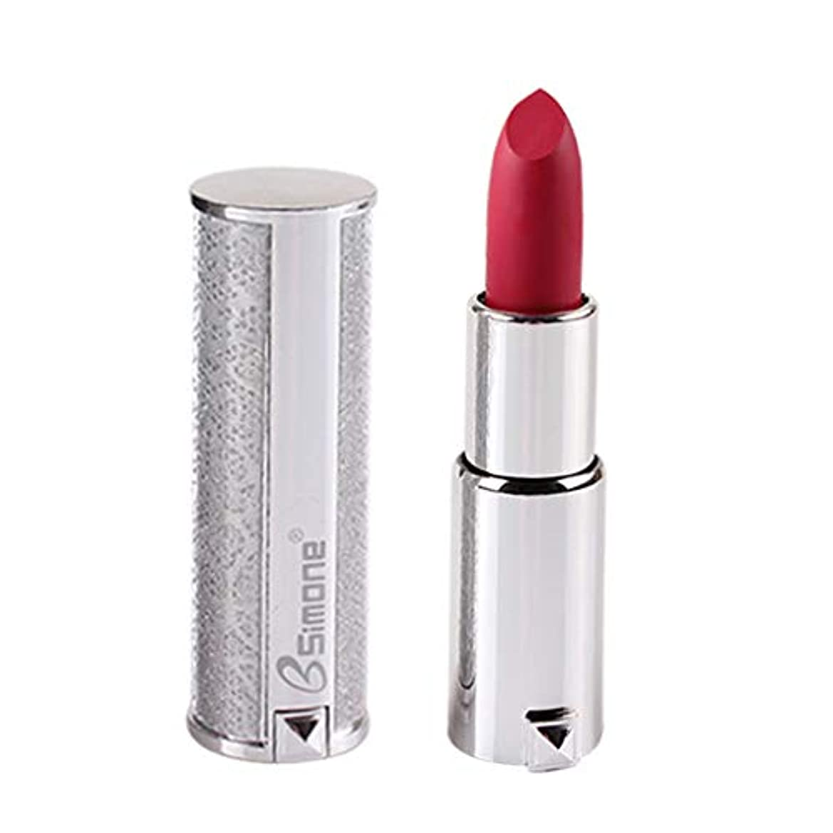 怒っているご予約シアー銀製の口紅の保湿剤のビロードの金属の口紅の化粧品の美の構造