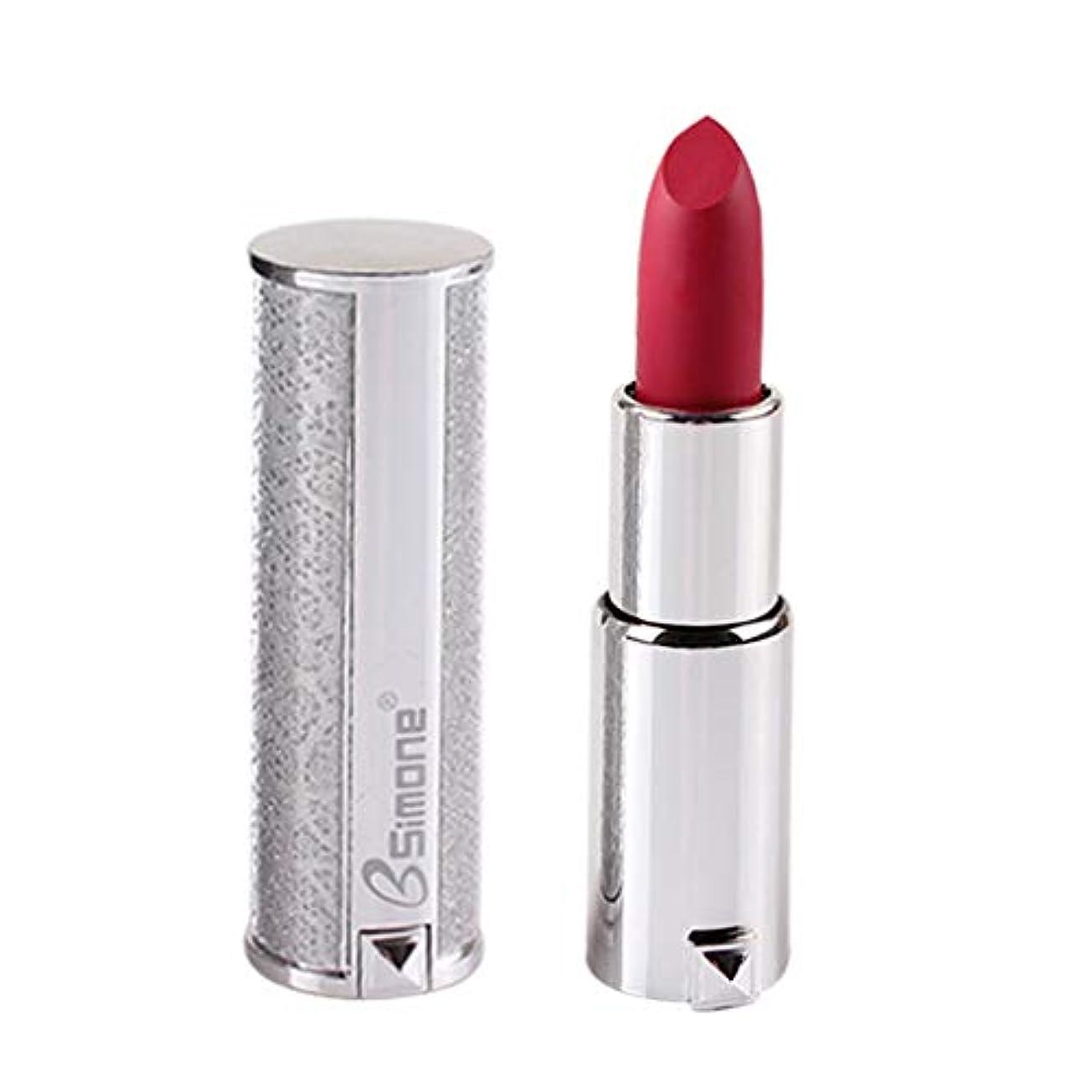 行為カウンタ居眠りする銀製の口紅の保湿剤のビロードの金属の口紅の化粧品の美の構造