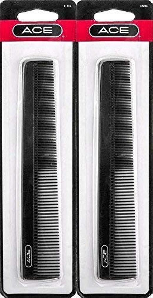 テントダメージ六分儀ACE - 61286 All - Purpose Comb (7 Inches) (Pack of 2) [並行輸入品]