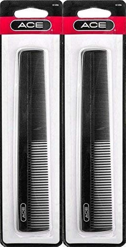 レキシコン文献暫定のACE - 61286 All - Purpose Comb (7 Inches) (Pack of 2) [並行輸入品]