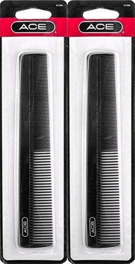 シェル近代化一過性ACE - 61286 All - Purpose Comb (7 Inches) (Pack of 2) [並行輸入品]