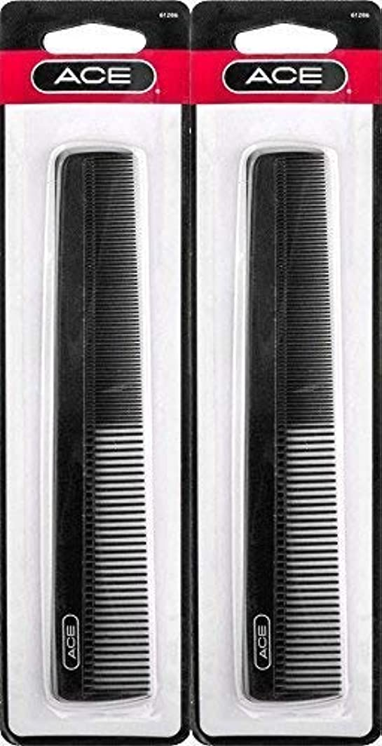 弱点ロボット省略するACE - 61286 All - Purpose Comb (7 Inches) (Pack of 2) [並行輸入品]