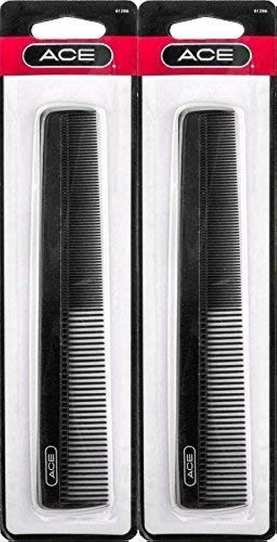訪問リフレッシュアドバイスACE - 61286 All - Purpose Comb (7 Inches) (Pack of 2) [並行輸入品]