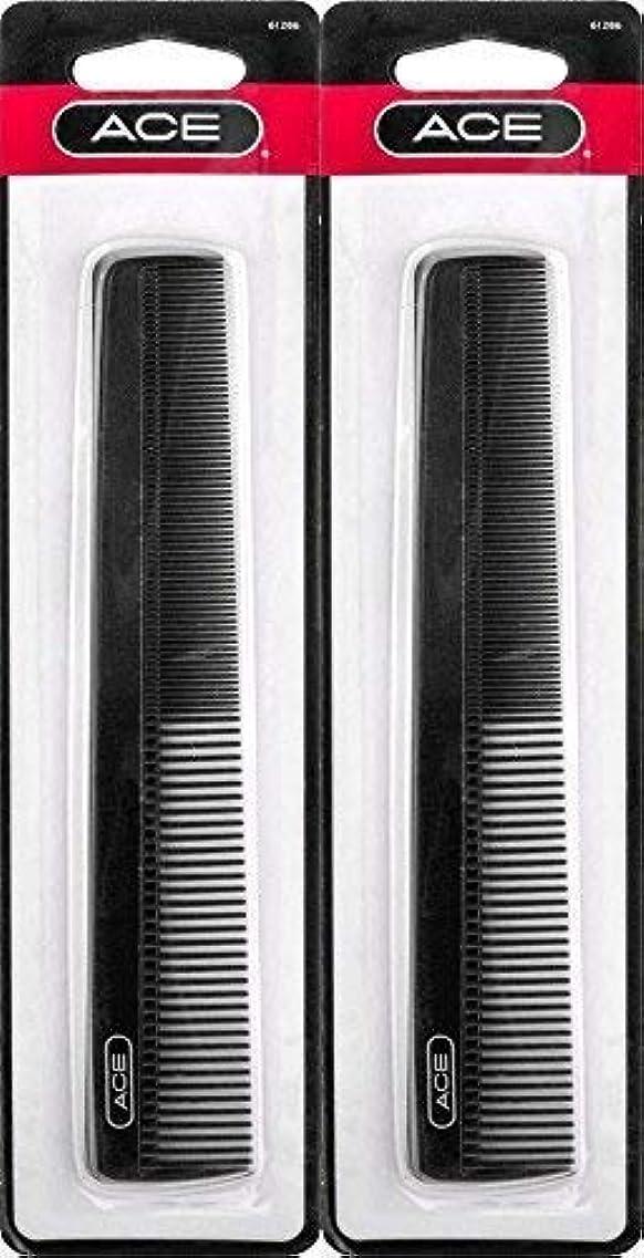 サスペンションアーカイブ電気技師ACE - 61286 All - Purpose Comb (7 Inches) (Pack of 2) [並行輸入品]