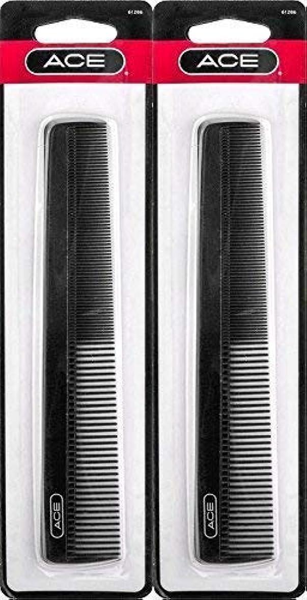 思われるネイティブレモンACE - 61286 All - Purpose Comb (7 Inches) (Pack of 2) [並行輸入品]