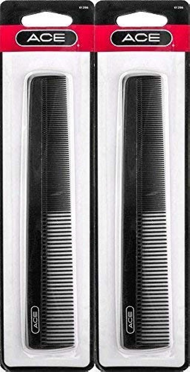 市長花瓶縫うACE - 61286 All - Purpose Comb (7 Inches) (Pack of 2) [並行輸入品]