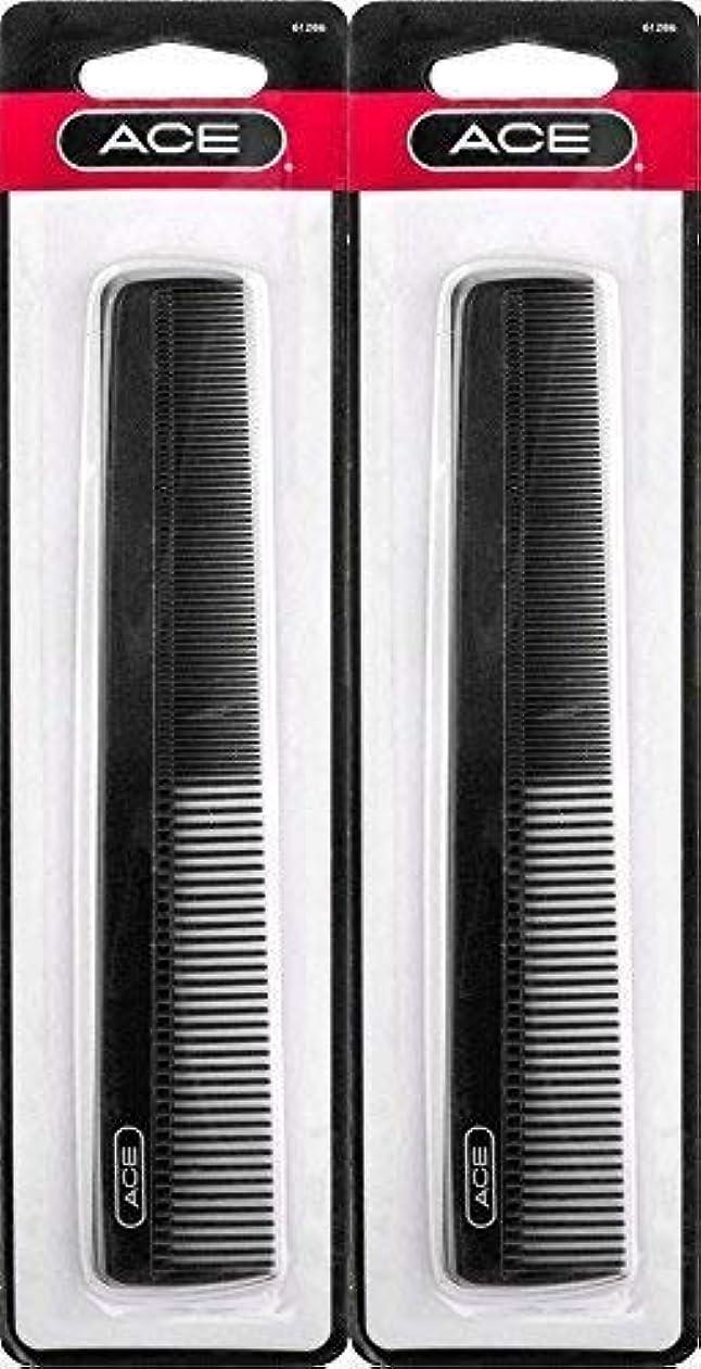 名義で契約した彫るACE - 61286 All - Purpose Comb (7 Inches) (Pack of 2) [並行輸入品]