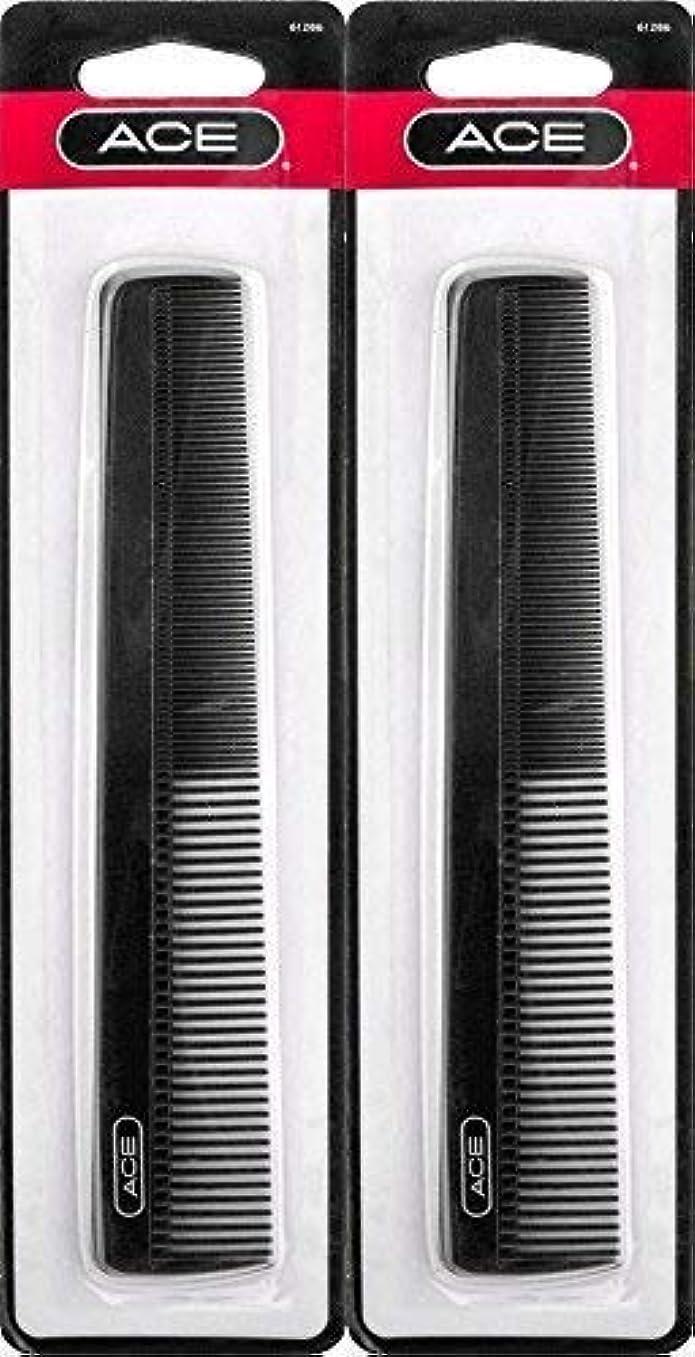 母音極貧盗難ACE - 61286 All - Purpose Comb (7 Inches) (Pack of 2) [並行輸入品]