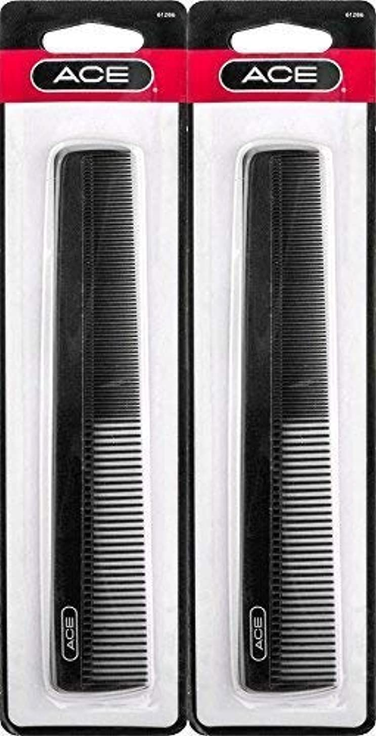 今酒ひどくACE - 61286 All - Purpose Comb (7 Inches) (Pack of 2) [並行輸入品]