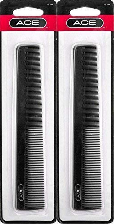テスピアン仮定する気づくACE - 61286 All - Purpose Comb (7 Inches) (Pack of 2) [並行輸入品]