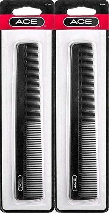 歌手痴漢横にACE - 61286 All - Purpose Comb (7 Inches) (Pack of 2) [並行輸入品]
