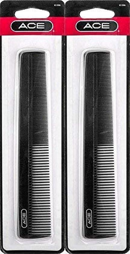 ゼリー例外付与ACE - 61286 All - Purpose Comb (7 Inches) (Pack of 2) [並行輸入品]