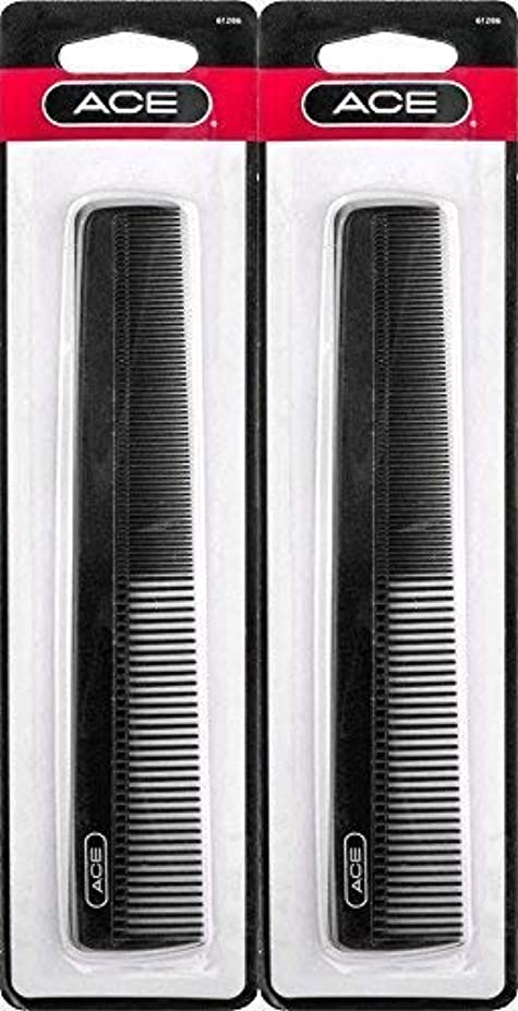 ACE - 61286 All - Purpose Comb (7 Inches) (Pack of 2) [並行輸入品]