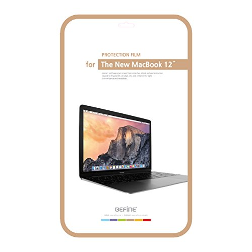 【日本正規代理店品】BEFiNE 新しいMacBook 12インチ用 ボディ保護フィルムセット BF6433M12