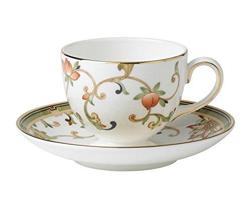 【正規輸入品】 ウェッジウッド オベロン ティーカップ&ソーサー (リー) S0116600001