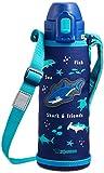 象印 (ZOJIRUSHI) 水筒 ストロータイプ ステンレスボトル 520ml ブルー SD-CB50-AA