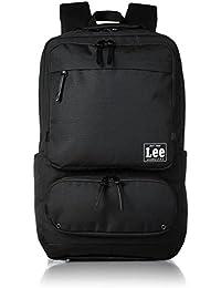 [リー] リュック レインカバー付き レザー調合皮使用 軽量多機能手付き(PC対応) スクエア型 320-4250