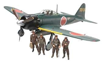 タミヤ 1/48 傑作機シリーズ NO.103 三菱 零式艦上戦闘機 五二型/五二型甲
