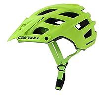 CAIRBULL 280g 6色TRAIL XC調節自転車ロード バイクヘルメット、自転車ヘルメット CPSC認定 調整可能 快適 男女兼用 サイクリング/山地/自転車ヘルメットMTBサイクリング 22空気穴 自転車マウンテンスポーツインモールドヘルメット付き サイズ:約55-61cm 内側幅:約17.5cm 調節可能な縁