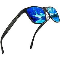 GS&GM Sunglasses Polarized Sunglasses Top Grade Aluminium Frame Mirrored Lens Shades for Men and Women