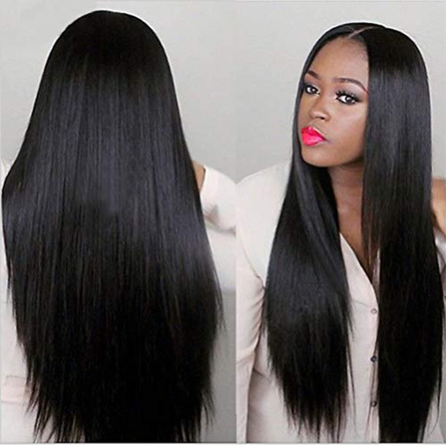 なくなるロバドキュメンタリーブラジルのバージンヘアストレート100%未処理の人間の髪の毛ストレート100%の本物の人間の髪の毛を編む女性の髪