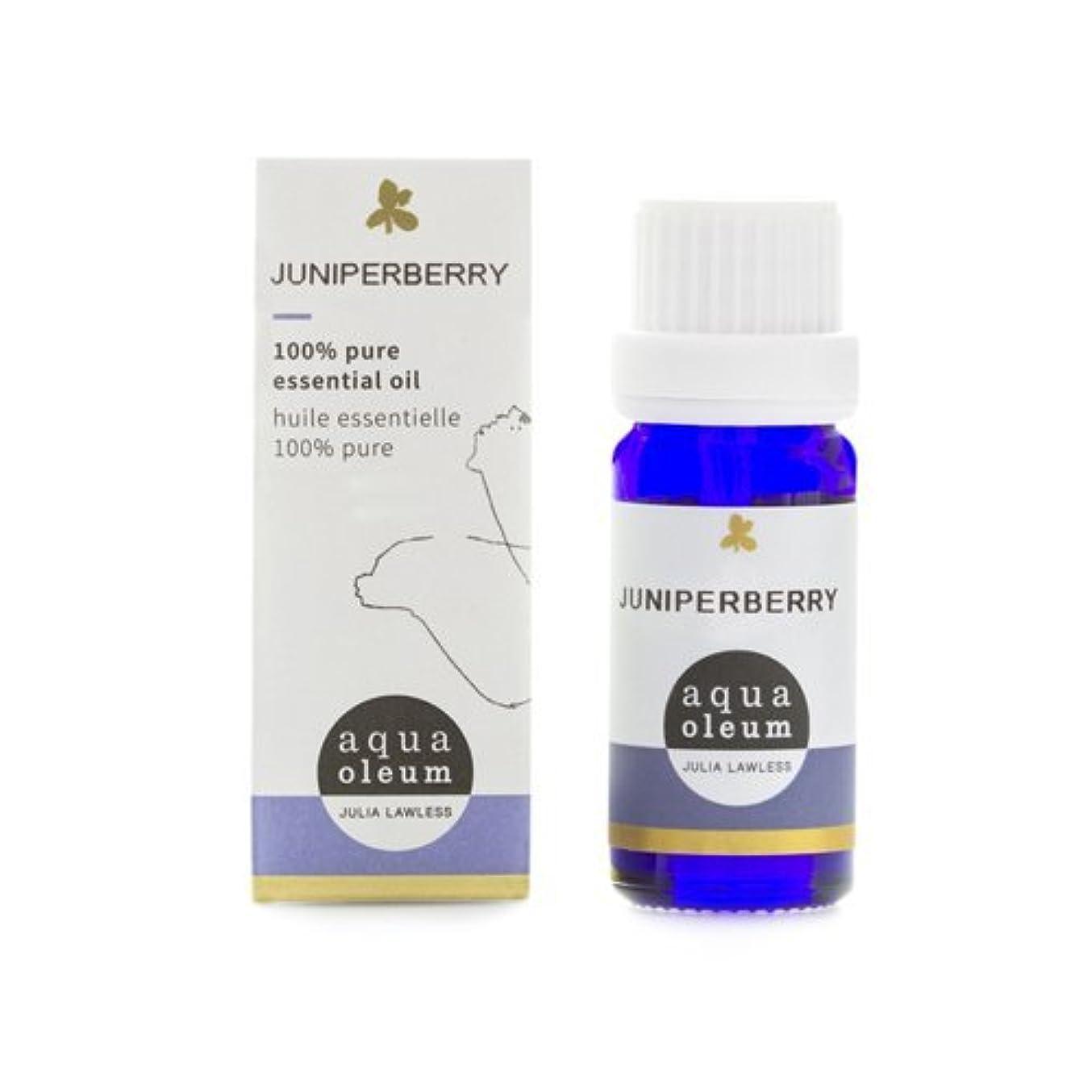 講堂単調な所有者アクアオレウム エッセンシャルオイル ジュニパーベリー 10ml(精油)