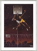 ポスター フランク モリソン Omega Fly Dunk 額装品 アルミ製ベーシックフレーム(ライトブロンズ)