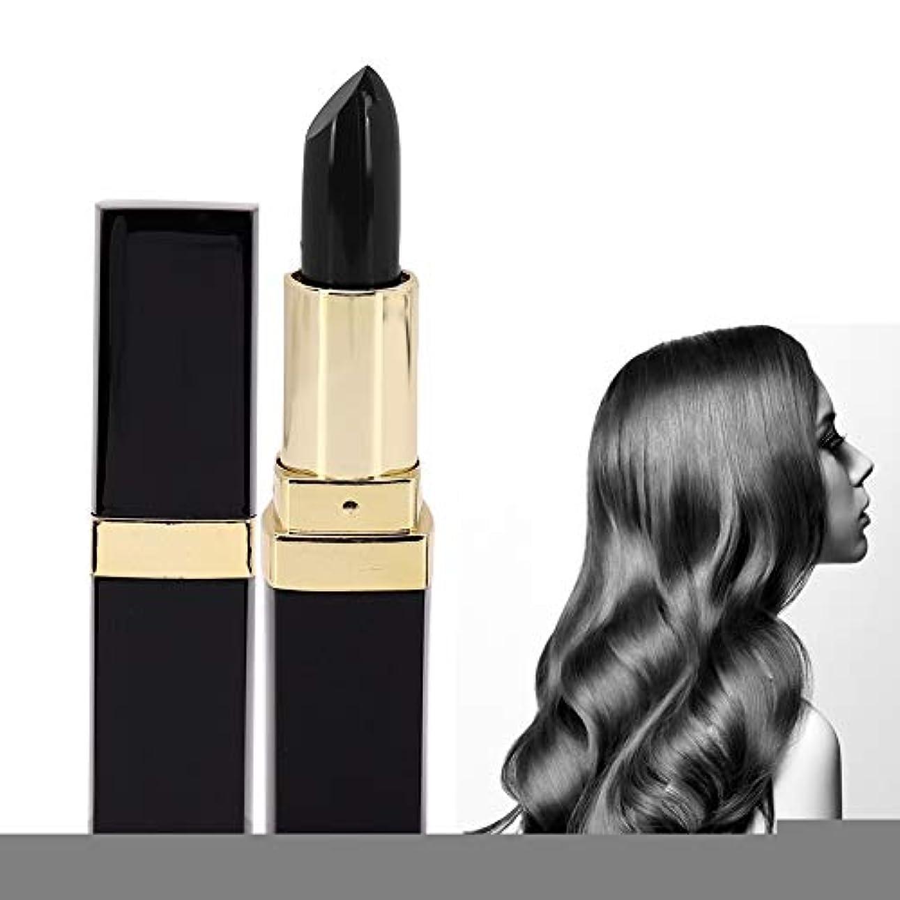 構成するボタン簡略化する使い捨ての髪の色は鉛筆スティック美容ツールを変更します(褐色), 使い捨てポータブル口紅の形の染料の髪の色は、鉛筆スティック美容ツールを変更します(茶色)