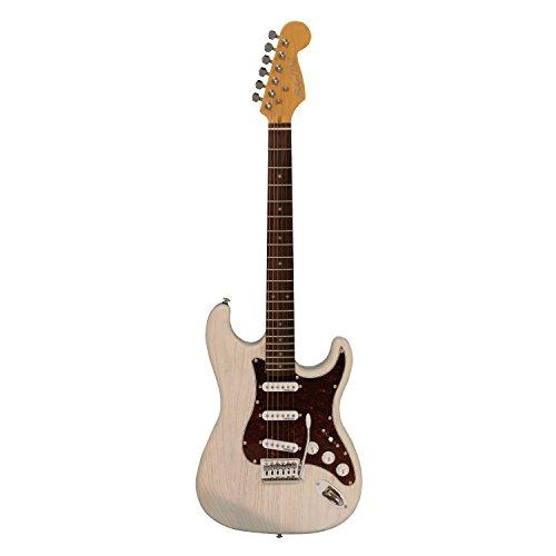 AntiqueNoel STタイプギター 3S ピックアップ アッシュボディ AST-WHM ホワイト