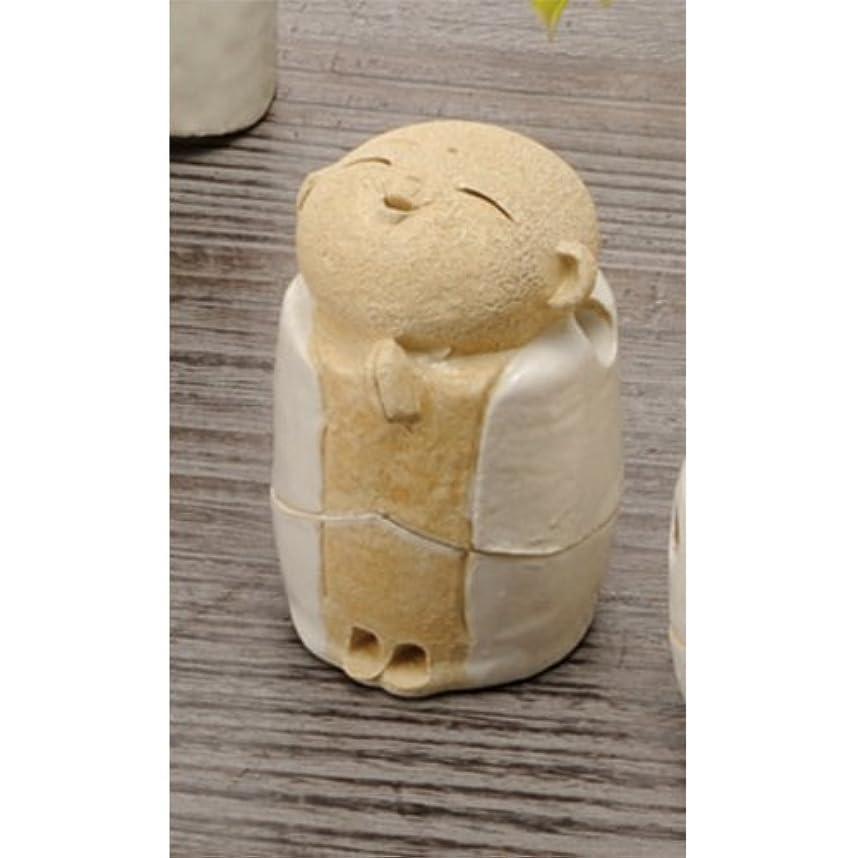 ディーラー涙が出るありそうお地蔵様 香炉シリーズ 白 お地蔵様 香炉 2.2寸(わらべ) [H6.5cm] HANDMADE プレゼント ギフト 和食器 かわいい インテリア
