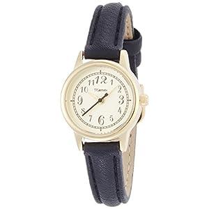 [フィールドワーク]Fieldwork 腕時計 ファッションウォッチ nattito マッチャン 革ベルト ブラック FSC113-6 レディース