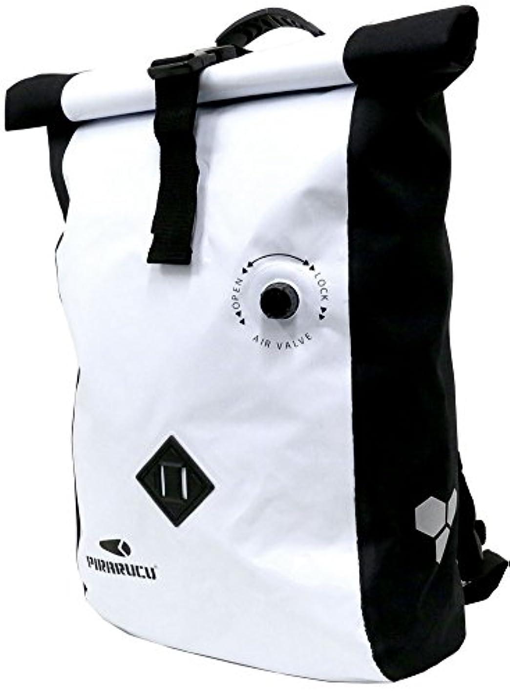 郵便屋さんペダル料理をする[ピラルク] リュック 防水 インナー バッグ付き 20L