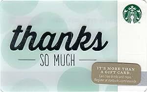 スターバックス スタバ ギフト カード 限定デザイン 2014 ホリデー99 No.84 『どうもありがとう!』